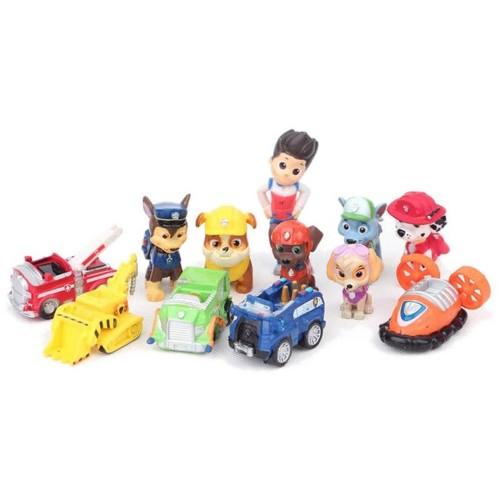 Foto Produk Set Paw Patrol Action Figure / Pajangan mainan 12 pcs dari Grandia Shop