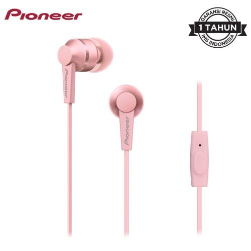Foto Produk Pioneer SE-C3T Earphone - Merah Muda dari Pioneer Official Store