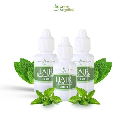 Foto Produk Perontok Bulu Permanen Ketiak dan Kaki Cepat Green Angelica Paket 3pc dari skinpedia.store