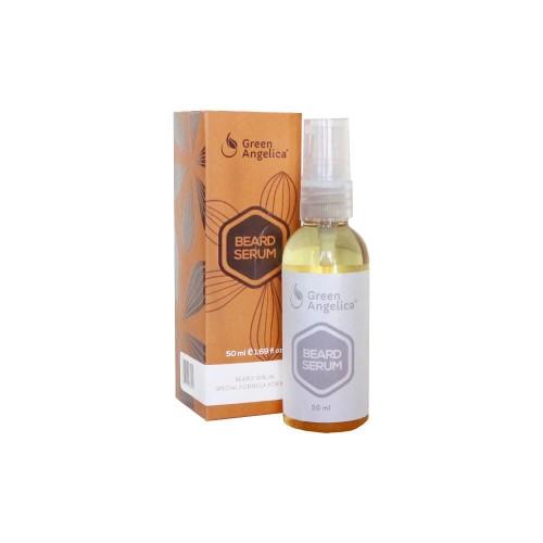 Foto Produk Penumbuh Bulu Jenggot Brewok Kumis Green Angelica Beard Serum 50ml dari skinpedia.store