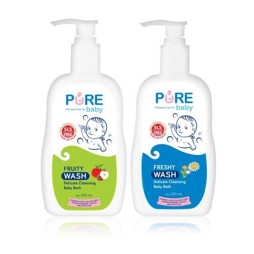 Foto Produk Purebaby Wash 230 ml - Freshy dari melanieshop94