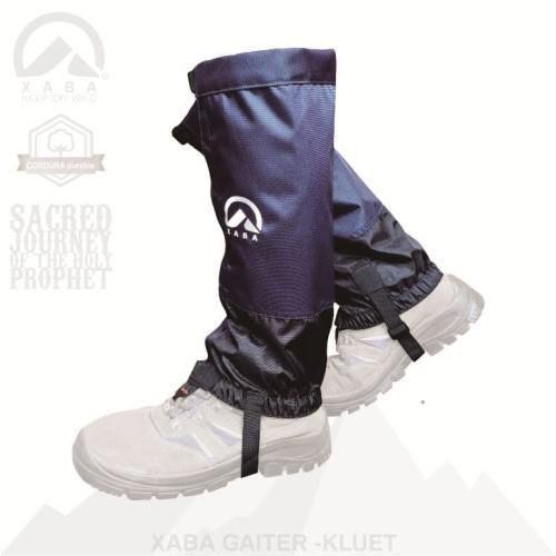 Foto Produk Gaiter / Gaiters, Pelindung Kaki Outdoor Hiking - XABA Kluet 02 - Biru dari XABA