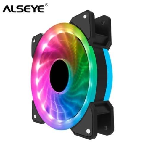 Foto Produk Fan ALSEYE D-RINGER RGB Led - Fan Casing dari daftar harga komputer