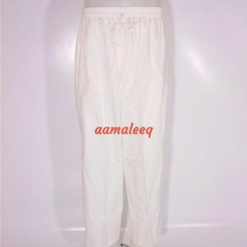 Foto Produk celana haji umroh putih dari aamaleeq