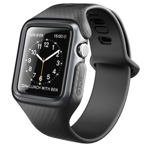 Foto Produk Clayco Apple Watch 4 44mm Case Hera V2 - Black dari Spigen Indonesia