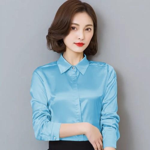 Foto Produk Baju atasan wanita - Kemeja kerja Wanita Gaya Korea simple dari My1stShop