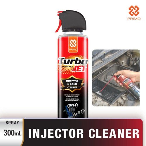 Foto Produk Pembersih Karburator & Injektor (foaming) PRIMO TURBO JET 300ml dari Primo Official Store