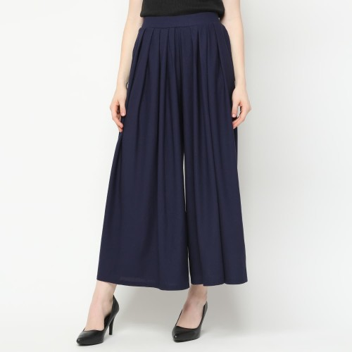 Foto Produk Eiza by duapola Remple Loose Kulot Pants 88178 - Navy dari Eiza