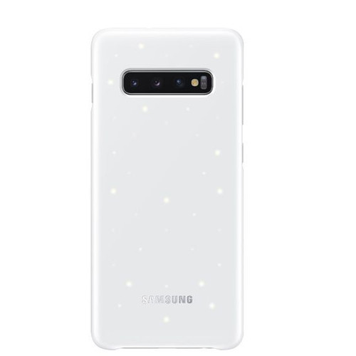 Foto Produk Original Samsung Galaxy S10 LED Back Cover - white dari Toko818 Accessories