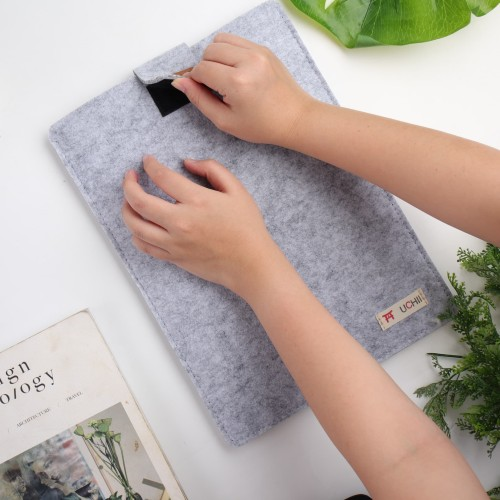 "Foto Produk UCHII Portable Tab Holder iPad Pocket | Map Kain Document File 12.5"" M dari uchii store"