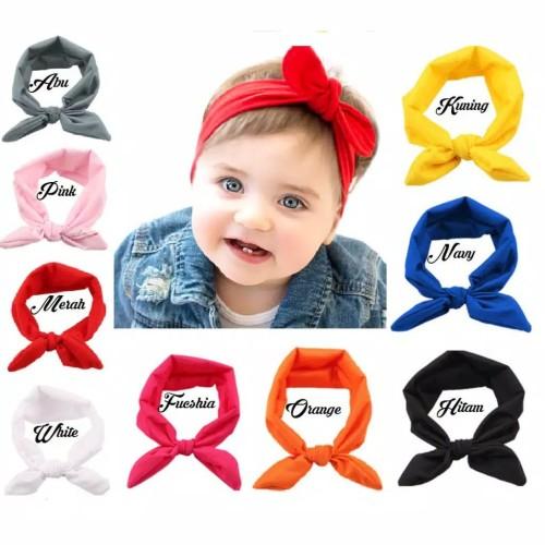 Foto Produk Bandana Anak / Bando Anak / Bandana Bayi / Bando Bayi / Headband Anak - Hijau dari M&K ( Mom & Kids)
