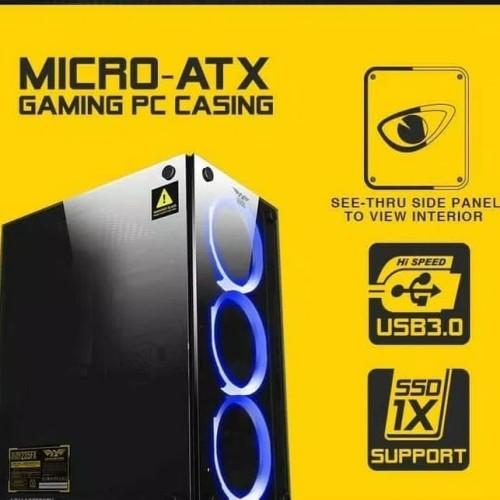 Foto Produk PC GAMING CORE i5 3470 VGA GTX-1050TI 4GB (ALL NEW TERMURAH) - Onboard VGA, 16 gb dari PROTOZZ