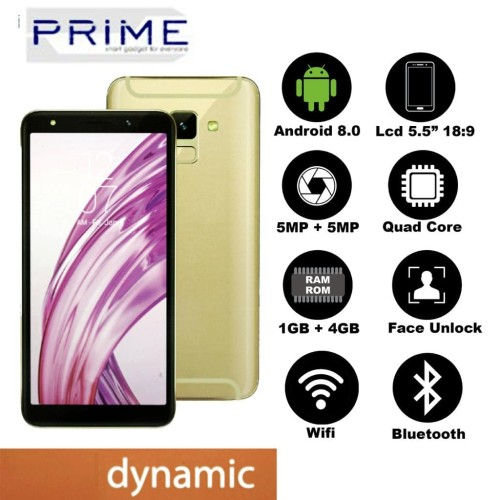 Foto Produk HP PRIME P1 DYNAMIC - 3G - LCD 5.5 INCH FULLVIEW dari Prime Mobile