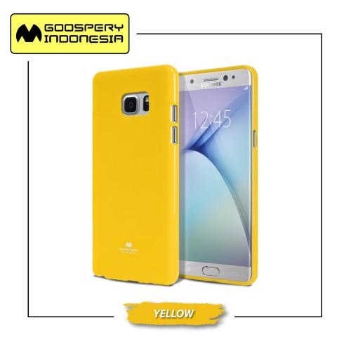 Foto Produk GOOSPERY Sale Samsung All Type Pearl Jelly Case - Yellow dari Goospery Indonesia