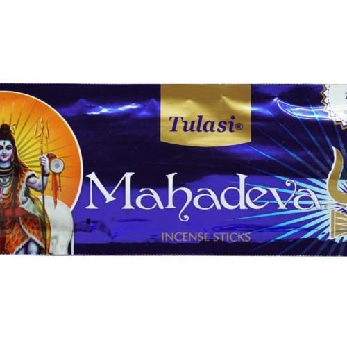 Foto Produk Dupa India (Aromaterapi) P.Plastic - Tulasi Mahadeva 35 Sticks dari Toko Gayathri