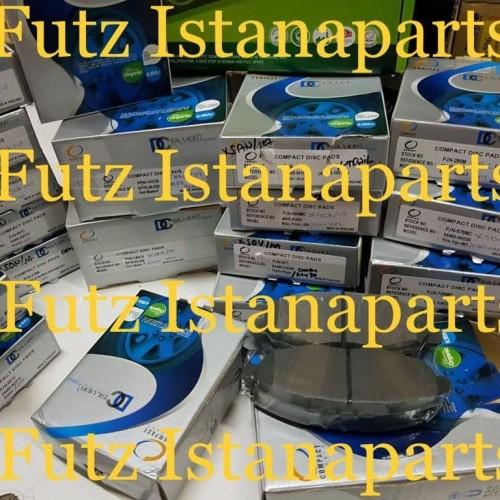 Foto Produk Brake pad / KAMPAS REM DEPAN INNOVA REBORN TH 2016 - ON MERK COMPACT dari Futz Istanaparts