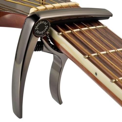 Foto Produk Meideal Capo10 MC10 Capo Gitar Deluxe Warna Hitam dari Grandia Shop