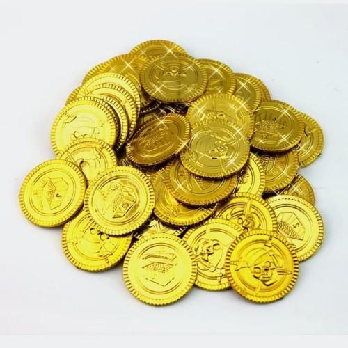 Foto Produk Paket isi 10 Koin Emas Bajak Laut Mainan dari Grandia Shop