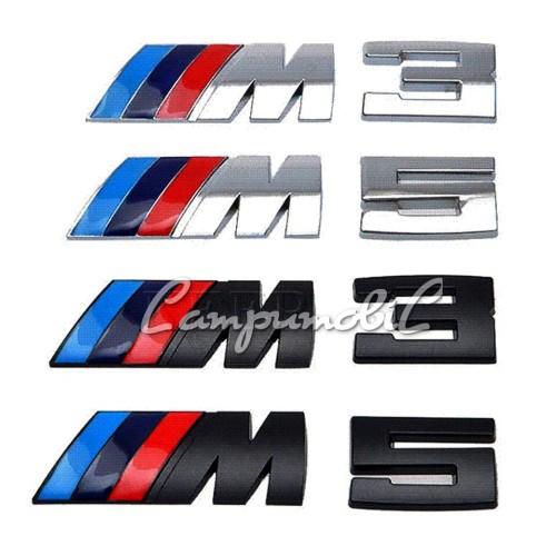 Foto Produk Metal Emblem BMW Logo M3 atau M5 dari LampuMobil