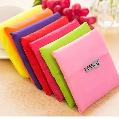 Foto Produk Bagcu Shopping Bag / Kantong Belanja Lipat Bagcu - NAVY dari Rising.collection