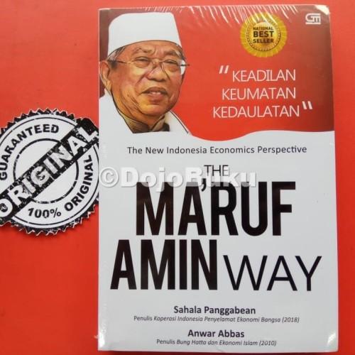 Foto Produk Ma'ruf Amin Way Sahala Panggabean by Anwar Abbas dari Dojo Buku