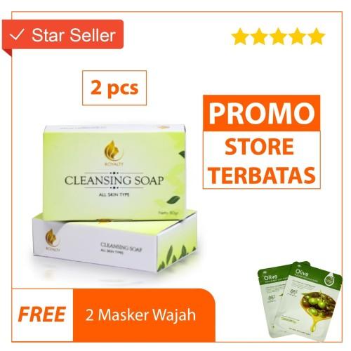 Foto Produk Sabun Kecantikan Sabun Pemutih Cleaning Soap Royalty 2 pc dari skinpedia.store