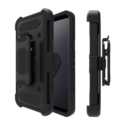 Foto Produk Samsung Galaxy S9 Plus XGEAR Armor w/ Holster Case Full Protection dari Megascarlet
