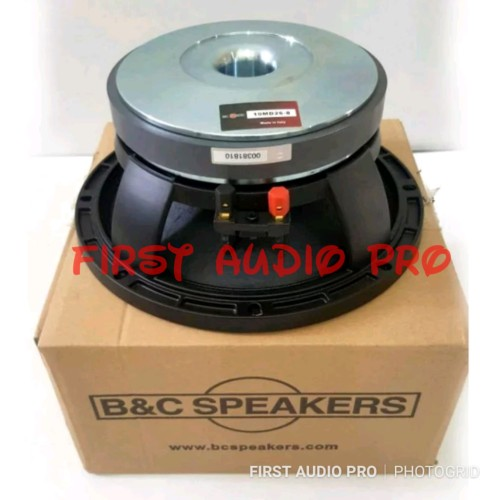 Foto Produk SPEAKER B&C 10MD26 / 10 MD26 10 INCH KOMPONEN MID GRADE A dari First Audio Pro