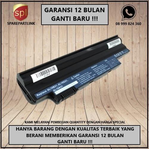 Foto Produk Baterai Acer Aspire One D255 522D260 D257 D270 722 ( High Capacity ) dari SparepartLink