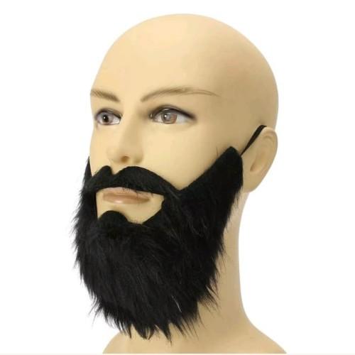 Foto Produk Jenggot palsu fake beard tali karet aksesories cosplay dari Net29
