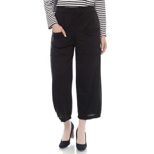 Foto Produk Mybamus Filia Pocket Kullote Pants Black M14722 R58S3 dari Mybamus Official