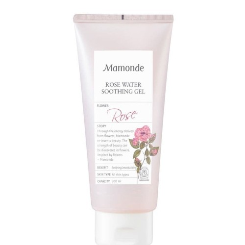 Foto Produk Mamonde Rose Water Soothing Gel 300ml Pelembab Wajah Original Korea dari shishi.care