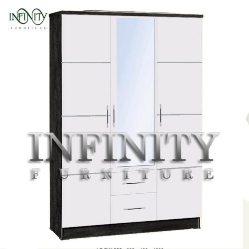Foto Produk Lemari Pakaian 3 Pintu Cermin LP BW 03 dari Infinity Furniture