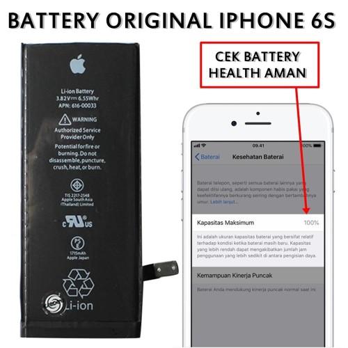Foto Produk BATTERY BATERAI BATERE IPHONE 6S ORIGINAL KD-001280 dari EREDETI