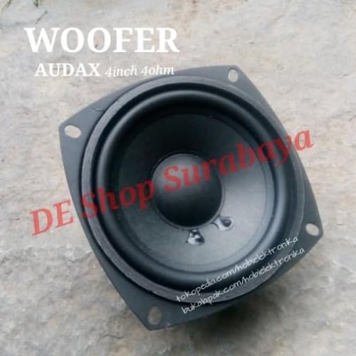 Foto Produk Speaker Woofer AUDAX 4inch 100Watt 4Ohm AX-4080 W4 Bass Mantab dari Hobi Elektronika