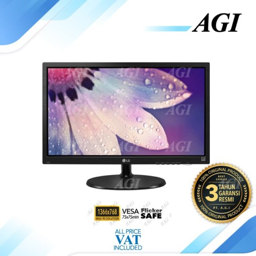 """Foto Produk Monitor LED LG 19M38 19M38A 19M38A-B 19"""" 1366x768 VGA dari Abditama Official"""