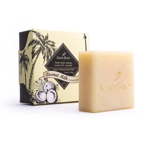 Foto Produk Coconut Milk - Natural Soap / Original ADA'S SOAP Indonesia 100gram dari Ada's Soap Indonesia