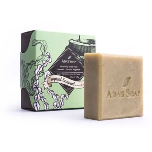 Foto Produk Tropical Seaweed - Natural Soap / Face ADA'S SOAP Indonesia 100gram dari Ada's Soap Indonesia