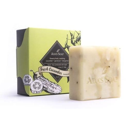 Foto Produk Fresh Cucumber - Natural Soap / Face 25gram dari Ada's Soap Indonesia