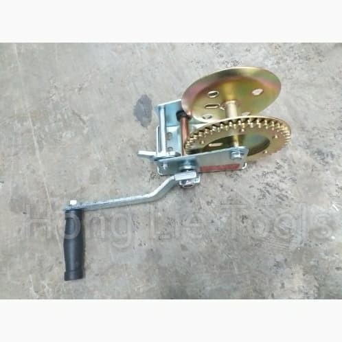 Foto Produk Sellery Hand Winch / Kerekan / Katrol Tangan 1200LB dari Hong Lie Tools