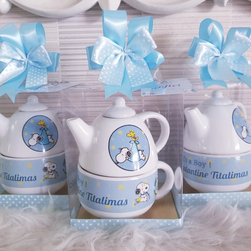 Foto Produk Souvenir Teko/ Souvenir Ultah/ Teko Custom/ Teko Printing/ Tea Pot dari DD Hamper's