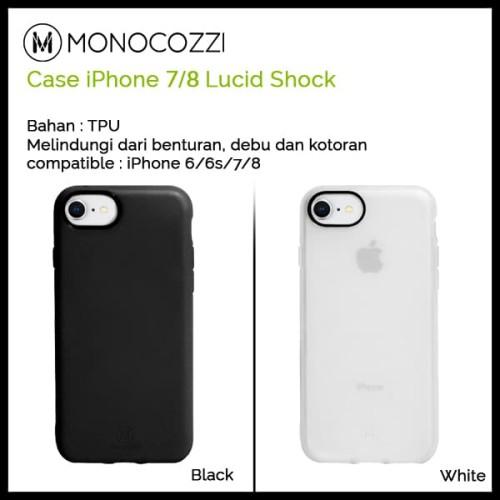 Foto Produk Monocozzi Lucid Shock Case for iPhone 7/8 - Putih dari Originalroom