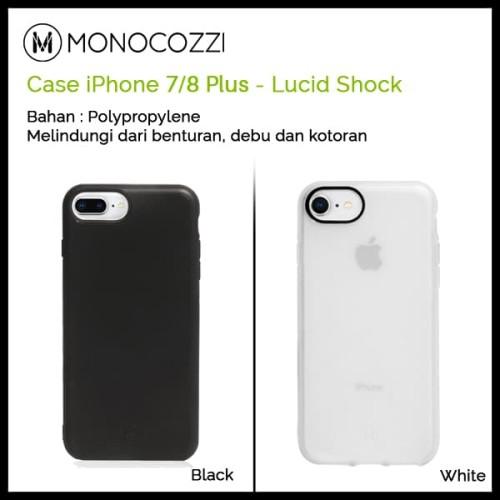 Foto Produk Monocozzi Lucid Shock Case for iPhone 7/8 Plus - Hitam dari Originalroom