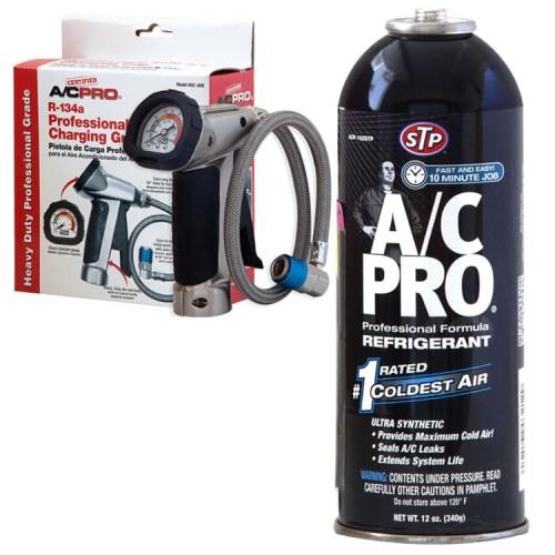 Foto Produk STP [BUNDLE] Pro Gun + AC Pro Refill isi ulang Pendingin AC Mobil dari STP
