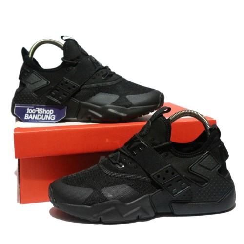Sepatu Nike Air Huarache Drift Triple Black 39 - 44 Premium Bnib