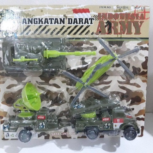 Foto Produk Promo Maianan Angakatan Darat Indonesian Army Die Cast 2 Limited dari Nandi Sakha