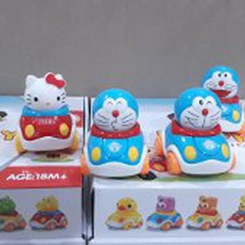 Foto Produk Promo Mainan Mobil Mobilan Die Cast Doraemin and Hello Kitty Limited dari Nandi Sakha