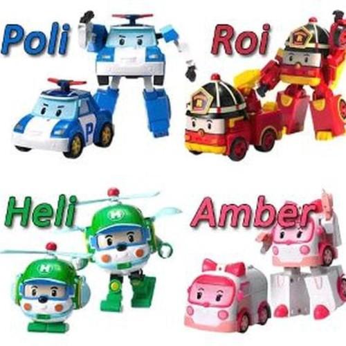 Foto Produk Unik Robocar Poli Set Limited dari Nandi Sakha