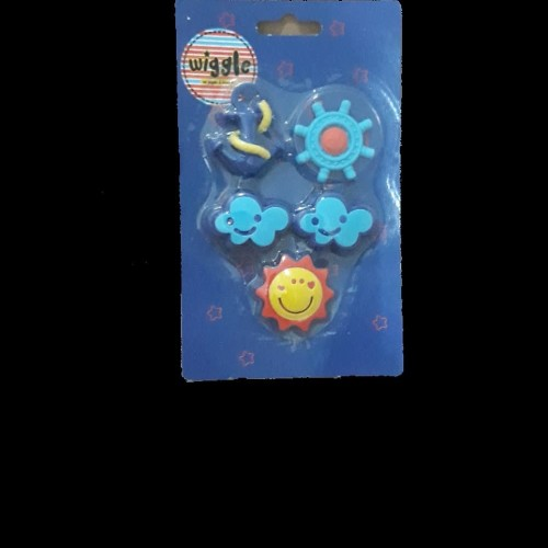 Foto Produk Dijual Nautical Eraser Set Wiggle Smiggle Limited dari Nandi Sakha