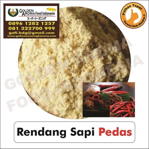 Foto Produk Bumbu Tabur Rendang Sapi Pedas 1Kg Bubuk Tabur Spicy Rendang Powder dari Pensil hb Asli Merk 2